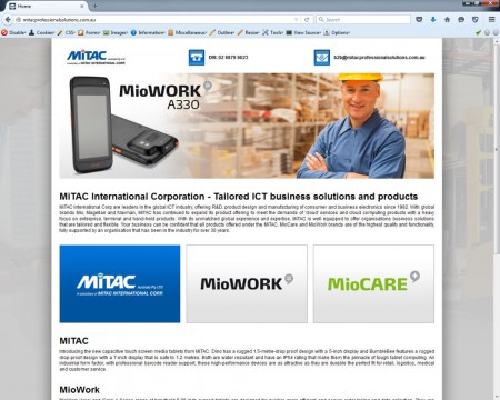 Mitac Professional Solutions